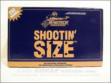 Magtech - Semi Jacketed Soft Point - 158 Grain 357 Magnum Ammo - 250 Rounds