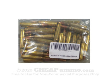 Dynamic Research Technologies Pre-Fragmented 55 Grain 223 Remington Remanufactured Ammo - 40 Rounds