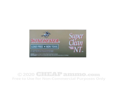 Winchester Super Clean Jacketed Soft-Point (JSP) 55 Grain 5.56x45mm  Ammo - 20 Rounds