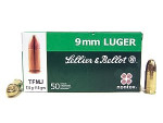 Sellier & Bellot - Total Metal Jacket - 115 Grain 9mm Luger Ammo - 50 Rounds