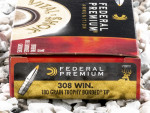 Federal Vital-Shok Trophy Bonded Tip 180 Grain 308 Winchester  (7.62X51)  Ammo - 20 Rounds
