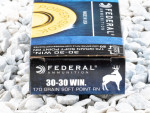 Federal - Soft Point Round Nose - 170 Grain 30-30 Winchester Ammo - 20 Rounds