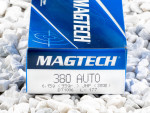Magtech - Jacketed Hollow Point - 95 Grain 380 Auto Ammo - 50 Rounds