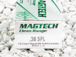 Magtech - Fully Encapsulated Base - 158 Grain 38 Special Ammo - 50 Rounds