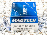 Magtech - Jacketed Hollow Point Bonded - 180 Grain 40 Smith & Wesson Ammo - 50 Rounds