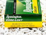 Remington - Core Lokt Pointed Soft Point - 150 Grain 30-06 Ammo - 20 Rounds