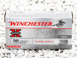 Winchester Super-X Lead Wadcutter 148 Grain 38 Special  Ammo - 50 Rounds