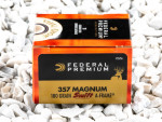 Federal Vital-Shok Jacketed Hollow-Point (JHP) 180 Grain 357 Magnum Ammo - 20 Rounds