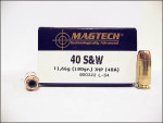 Magtech - Jacketed Hollow Point - 180 Grain 40 Smith & Wesson Ammo - 1000 Rounds