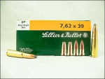 Sellier & Bellot - Soft Point - 123 Grain 7.62X39 Ammo - 600 Rounds