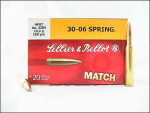 Sellier & Bellot - Hollow Point Boat Tail - 168 Grain 30-06 Ammo - 20 Rounds