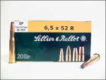 Sellier & Bellot - Soft Point - 117 Grain 6.5X52R Ammo - 20 Rounds