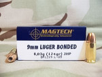 Magtech - Jacketed Hollow Point - 124 Grain 9mm Luger Ammo - 1000 Rounds