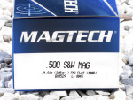 Magtech - Full Metal Jacket - 325 Grain 500 S&W Magnum Ammo - 20 Rounds