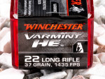 Winchester - Hollow Point - 37 Grain 22 Long Rifle Ammo - 50 Rounds