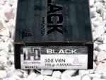 308 - 168 Grain A-Max - Hornady BLACK - 20 Rounds