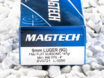 Magtech - Full Metal Jacket - 147 Grain 9mm Luger Ammo - 1000 Rounds