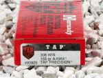 Hornady - A-MAX TAP Match - 155 Grain 308 Winchester  Ammo - 200 Rounds