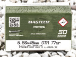 Magtech - Hollow Point Boat Tail Cannelured MatchKing - 77 Grain 5.56x45 Ammo - 1000 Rounds