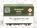 Magtech - Full Metal Jacket - 147 Grain 308 Winchester  Ammo - 50 Rounds