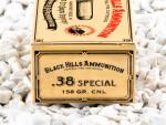 Black Hills Ammunition CNL 158 Grain 38 Special  Ammo - 50 Rounds
