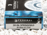 Federal - Soft Point - 180 Grain 30-06 Ammo - 200 Rounds