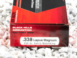 Black Hills Ammunition MatchKing Hollow-Point Boat Tail (HP-BT) 250 Grain 338 Lapua Magnum  Ammo - 20 Rounds