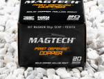 Magtech - Solid Copper Hollow Point - 95 Grain 357 Magnum Ammo - 20 Rounds