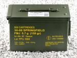 Prvi Partizan - Full Metal Jacket - 150 Grain 30-06 Ammo - 500 Rounds in Ammo Can