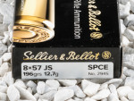 Sellier & Bellot - Soft Point Cutting Edge(SPCE) - 196 Grain 8mm Mauser Ammo - 20 Rounds