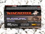 Winchester - Hollow Point - 42 Grain 22 Long Rifle Ammo - 50 Rounds