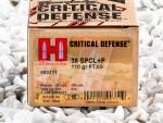 Hornady - Flex Tip Technology - 110 Grain 38 Special Ammo - 250 Rounds