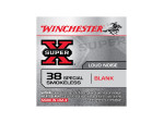 Winchester Super-X Blanks  38 Special  Ammo - 50 Rounds