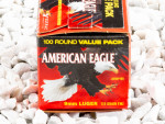 Federal Full Metal Jacket (FMJ) 115 Grain 9mm Luger (9x19)  Ammo - 100 Rounds