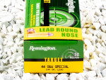 Remington Target Lead Round Nose (LRN) 246 Grain 44 S&W Special  Ammo - 50 Rounds