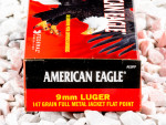 Federal - Full Metal Jacket Flat Nose - 147 Grain 9mm Ammo - 1000 Rounds