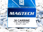 Magtech - Full Metal Jacket - 110 Grain 30 Carbine Ammo - 1000 Rounds