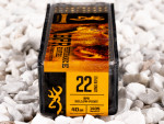 Browning Performance Rimfire Hollow-Point (HP) 40 Grain 22 Long Rifle (LR)  Ammo - 100 Rounds