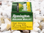 Remington - Plated Round Nose - 40 Grain 22 Long Rifle Ammo - 500 Rounds