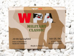 Wolf Military Classic Full Metal Jacket (FMJ) 168 Grain 30-06  Ammo - 500  Rounds