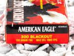 Federal American Eagle Full Metal Jacket (FMJ) 150 Grain 300 AAC Blackout  Ammo - 20 Rounds