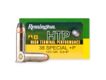 Remington - Semi-Jacketed Hollow Point - 125 Grain 38 Special +P Ammo - 20 Rounds