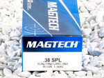 Magtech - Lead Semi Wadcutter - 158 Grain 38 Special Ammo - 50 Rounds