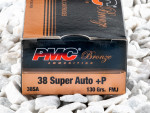 PMC - Full Metal Jacket - 130 Grain 38 Super Ammo - 50 Rounds