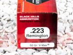 Black Hills Ammunition - V-MAX - 60 Grain 223 Remington Ammo - 500 Rounds