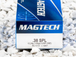 Magtech - Semi Jacketed Hollow Point - 158 Grain 38 Special Ammo - 50 Rounds