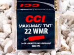 CCI - Hollow Point - 30 Grain 22 Magnum Ammo - 50 Rounds