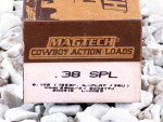 Magtech - Lead Flat Nose - 125 Grain 38 Special Ammo - 50 Rounds