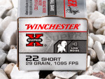 Winchester - Lead Round Nose - 29 Grain 22 Short Ammo - 500 Rounds