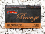 PMC - Full Metal Jacket - 55 Grain 223 Remington Ammo - 20 Rounds